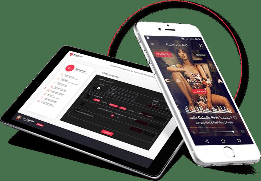 streaming-aplicaciones